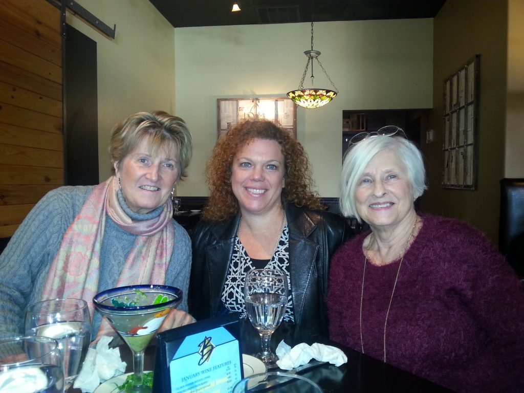 Debbie Day and Mary Eubanks and I used to work with Karen Luisana, owner of the Antique and Design Center in Market Square. I