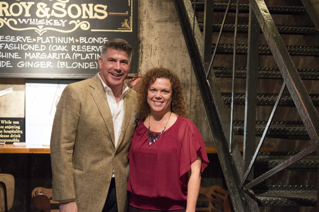 Ran into this handsome fella, Bryan Batt, at the Boiler Room Bar in the Antique and Design Center with his husband, Tom Cianfichi.