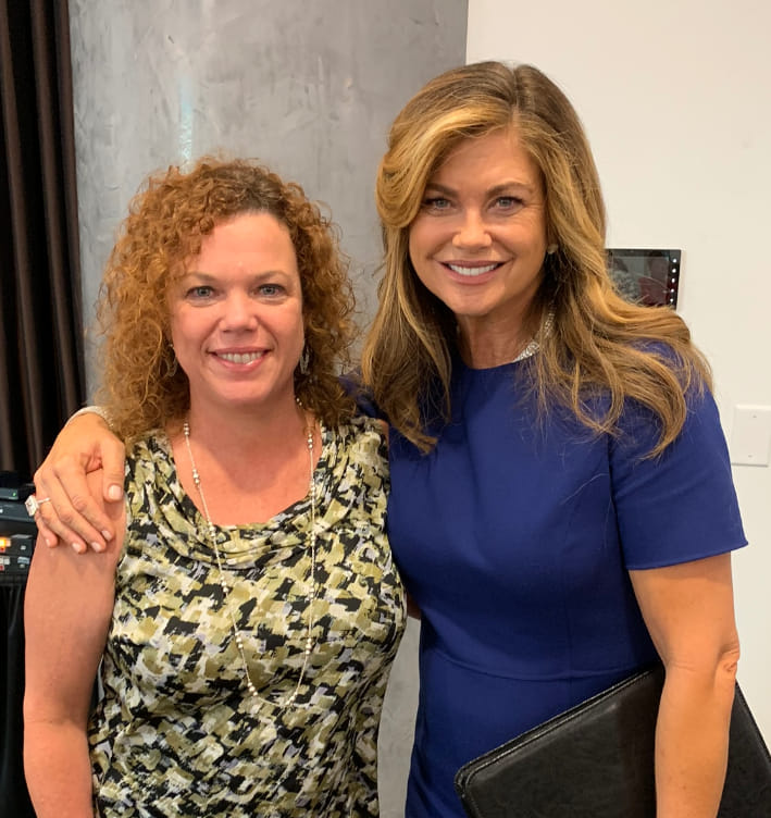 Kathy Ireland - such an amazing woman whose heart and philanthropic works touch me deeply. #GiftForLife